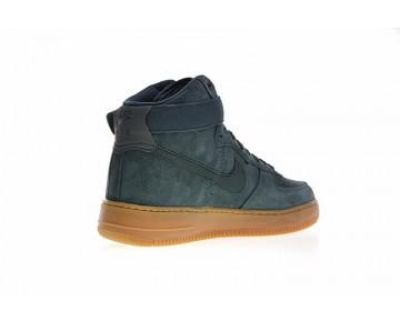 Herren Aa1118-3 Schuhe Vintage Grün Gum Nike Air Force 1 High '07 Lv8 Suede