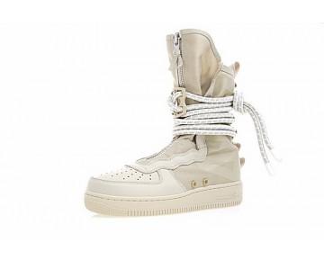 Aa3965-200 Unisex Schuhe Desert/Cream Weiß Nike Wmns Sf Air Force 1 High