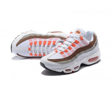 Orange Rot/Grau/Weiß Schuhe 307960-102 Nike Wmns Air Max 95 Essential Damen