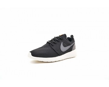 Schwarz/Ash Grau Unisex Nike Roshe One Retro Schuhe 819881-001