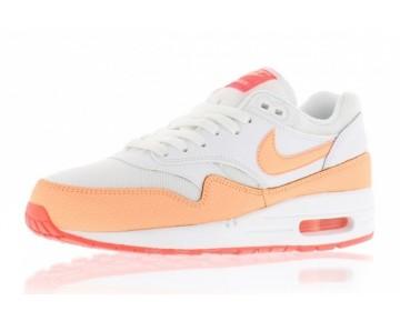 Nike Wmns Air Max 1 Essential Damen Weiß/ Sunset Glow/ Hot Lava 599820-114 Schuhe