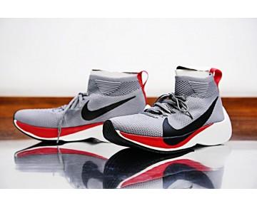 900888-006 Unisex Schuhe Nike Zoom Vaporfly Elite Licht Grau/Schwarz Rot