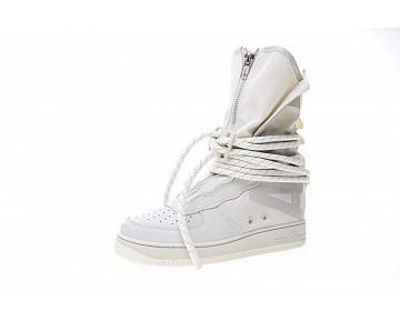 Rice Weiß Aa1128-201 Nike Sf Air Force 1 High Unisex Schuhe