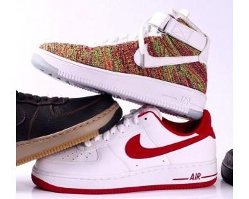 Schuhe Unisex Nike Air Force 1 Flyknit Rainbow