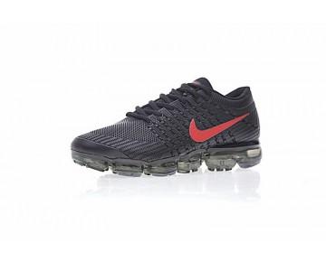 watch c1abf a5cc4 ... Nike Air Vapormax Flyknit Herren 849558-010 Schwarz/Rot Schuhe