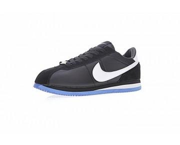 Unisex Schwarz/Weiß/Blau Undefeated X Nikelab Cortez Sp Mandarin Duck 815653-014 Schuhe