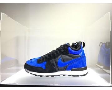 682844-404 Königlich Schwarz Unisex Schuhe Nike Internationalist Mid L