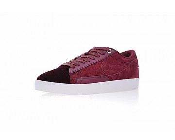 Burgundy Nike Wmns Blazer Low Lx Aa-606 Schuhe Damen