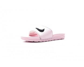 Schuhe Unisex Nike Sportswear Benassi Solarsoft 2 705475-601 Prism/Rosa/Schwarz