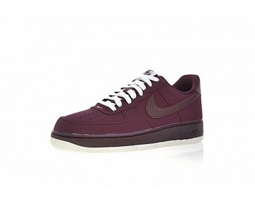 Herren 820266-604 Schuhe Nike Air Force 1 Low Maroon Nacht Maroon
