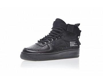 Unisex Schuhe Nike Sf Air Force 1 Utility Mid Camo Schwarz