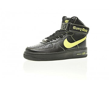 Vlone X Nike Air Force 1 High Collection Ne Unisex Aa536-003 Vlone Balck Gelb Schuhe