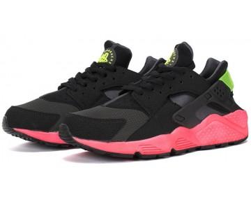 Schuhe Unisex 318429-006 Schwarz/Fuchsia Rosa Nike Air Huarache