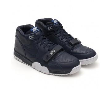 Fragment Design X Nikecourt Air Trainer 1 Mid Premium Sp Herren 806942-441 Schuhe Obsidian/Weiß-Obsidian