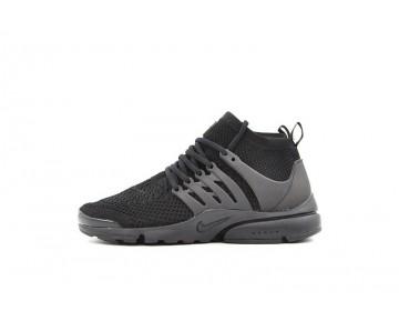 Herren Triple Schwarz 835738-002 Nike Air Presto Flyknit Ultra Schuhe