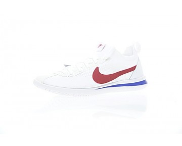 Schuhe Weiß/Rot/Königlich Aa2029-001 Nike Cortez Flyknit Unisex