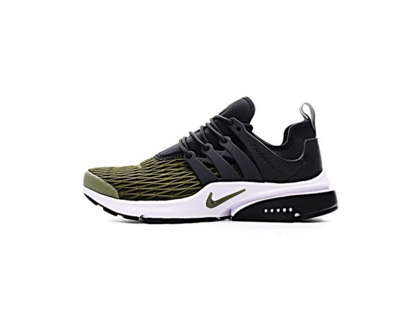 Herren 878071-002 Olive Grün/Schwarz Schuhe 17Ss Nike Air Presto Ultra Breathe