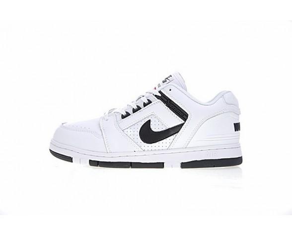 Supreme X Nike Sb Air Force 2 Low Sb Weiß Schwarz Herren Aa0871-101 Schuhe