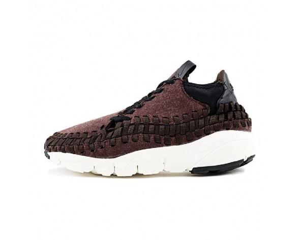 Herren 857874-400 Nike Air Footscape Woven Chukka Se Schuhe Braun/Schwarz