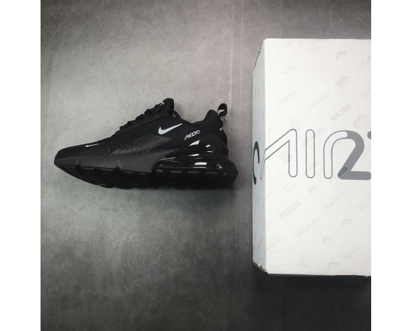 Schuhe Ah8050-003 Nike Air 270 Flyknit Herren Gret/Tief Grau/Blau