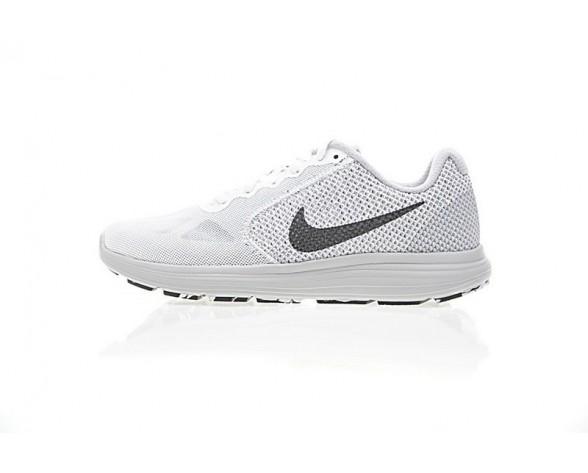 Herren 819300-102 Nike Revolution Licht Grau/Schwarz Schuhe