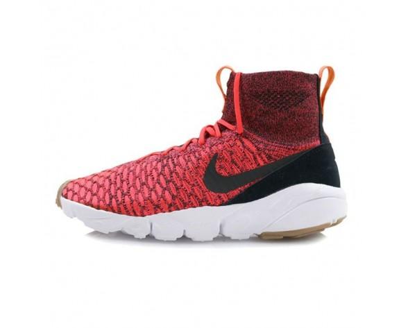 816560-600 Nike Air Footscape Magista Flyknit Bright Crimson Herren Schuhe