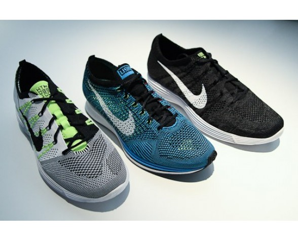 535089-101 Fluorescent Gelb Herren Nike Flyknit Lunar Htm Nrg Schuhe