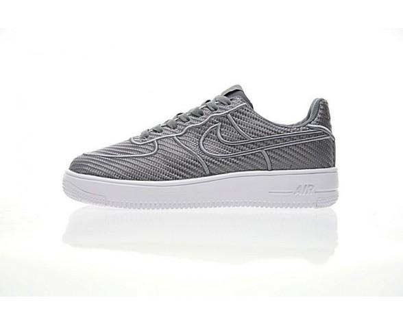 Schuhe Herren Licht Grau Nike Air Force 1 Ultraforce Low Lv8 864015-101