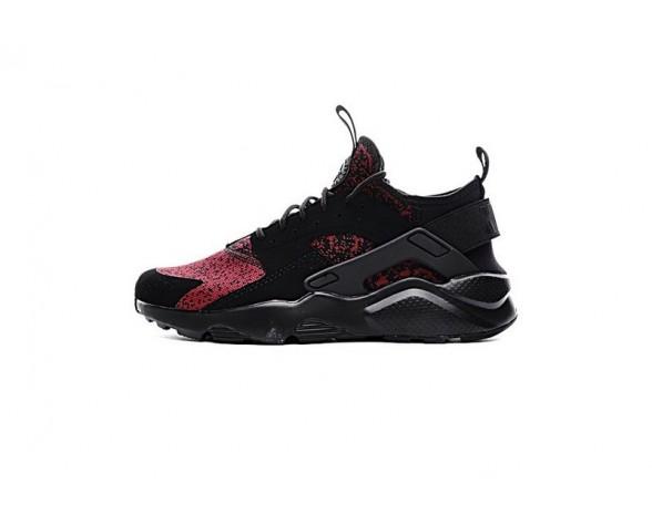 Burgundy Schwarz 753889-994 Schuhe Nike Air Huarache Ultra Flyknit Id Snow Pattern Unisex