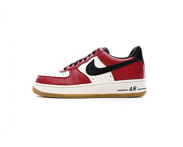 Chicago Weiß Rot Nike Air Force 1 Lowgo 820266-600 Unisex Schuhe