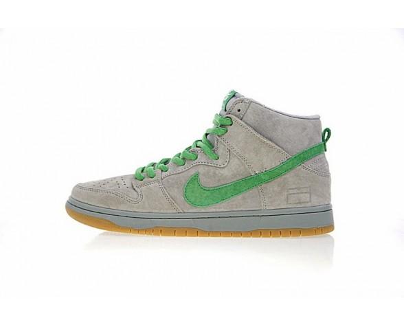 313171-039 Nike Sb Dunk High Premium Grau Box Unisex Schuhe