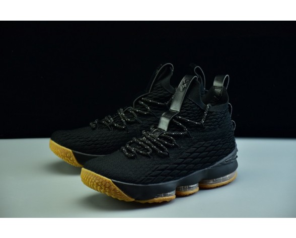 Schwarz/Braun Schuhe 897648-300 Herren Nike Lebron 15