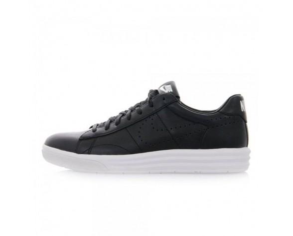 Herren 705497-001 Nike Tennis Classic Lunar Deluxe Schuhe Schwarz Weiß