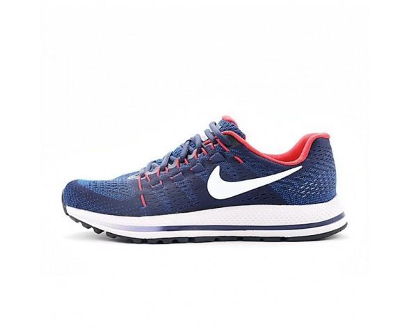 863762-402 Nike Air Zoom Vomero 12 Herren Tief Blau/Rot/Weiß Schuhe