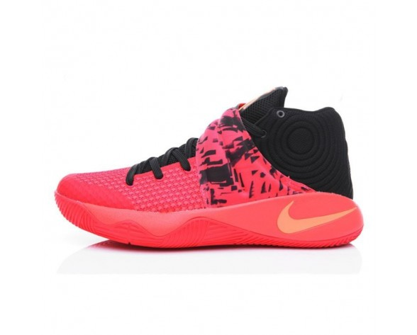 706678-606 Schuhe Herren Flame Rot/Schwarz Nike Kyrie 2