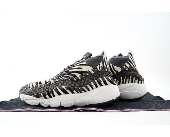 Schuhe Unisex Zebra 446337-201 Nike Air Footscape Woven Chukka Motion