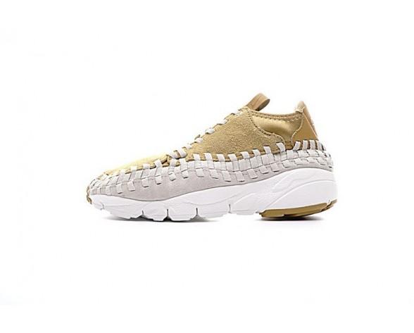 Herren Schuhe Nike Air Footscape Woven Chukka Qs 913929-700 Braun/Gold