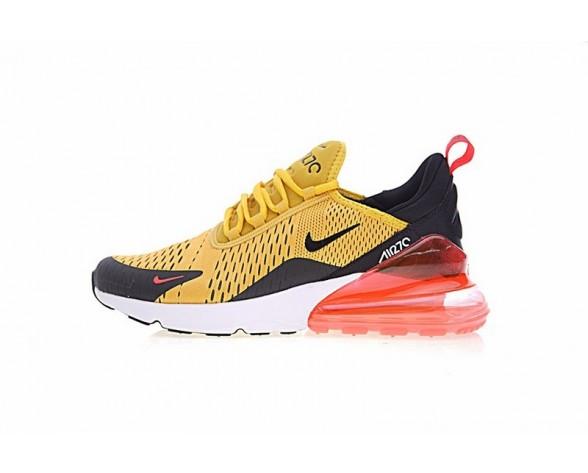 Schuhe Ah8050-706 Gelb Schwarz Rot Weiß Nike Air Max 270 Herren