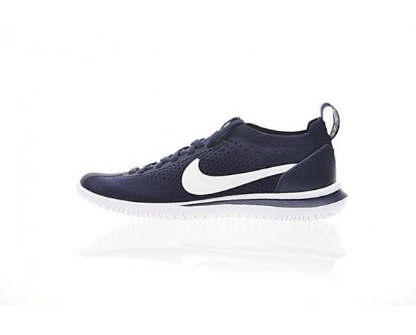 finest selection 0441f 35574 Herren Marine BlauWeiß Schuhe Nike Cortez Flyknit Aa2029-101