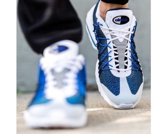 Unisex Schuhe Nike Air Max 95 Ultra Jcrd 20 Air Max 95 20Th Anniversary 749771-401 Weiß/Blau