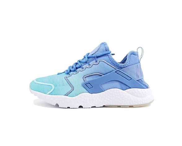 Damen Schuhe Nike Air Huarache Run Ultra Print Blau Gradient 833292-401