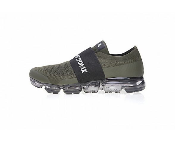 Herren Nike Air Vapormax Laceless  Ah3397-201 Schuhe Army Grün/Schwarz