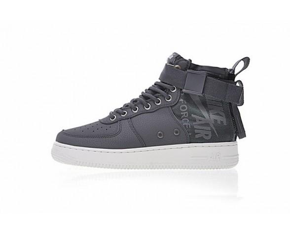 Nike Sf Air Force 1 Utility Mid Unisex Grau/Dunkel Grau/Weiß Schuhe