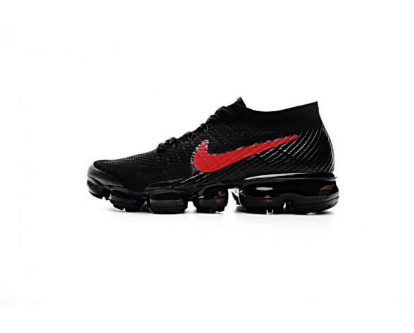 Schuhe Unisex Nike Air Vapormax Flyknit Schwarz/Rot 849558-006