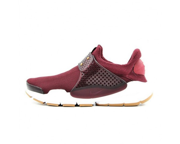 Burgundy Schuhe 848475-600  Nike Wmns Sock Dartdy Damen