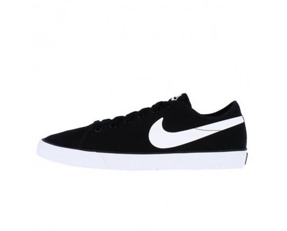 Schwarz Weiß Nike Primo Court Canvas Summer Schuhe 631691-019 Damen