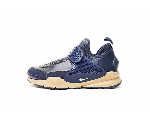 Schuhe Stone Island X Nikelab Sock Dart Mid Tief Blau/Yelliw 910090-400 Unisex