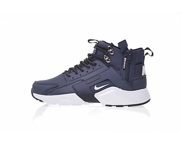 "Tief Blau/Weiß Herren 856787-401 Schuhe <span class=""__cf_email__"" data-cfemail=""541537263b3a2d3914"">[emailprotected]</span> X Nike Air Huarache City Mid Lea"