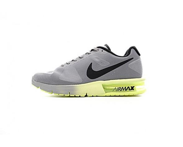 719912-013 Schuhe Herren Nike Air Max Sequent  Grau/Lemon Gelb