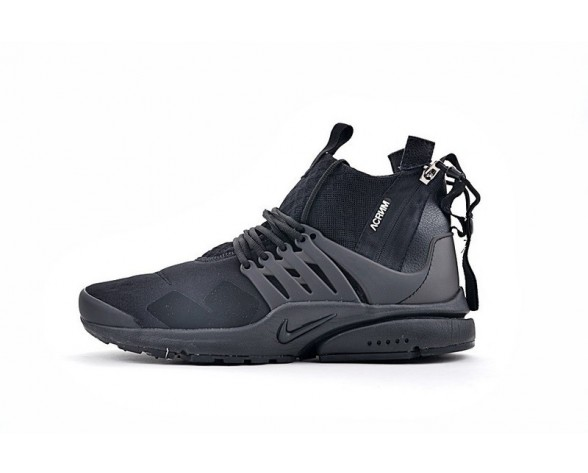 """844672-111 <span class=""""__cf_email__"""" data-cfemail=""""b5f4d6c7dadbccd8f5"""">[emailprotected]</span> X Nike Air Presto Mid Triple Schwarz Herren Schuhe"""